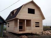 Дома из бруса Эмил 6×8 с установкой в Сенненском р-не